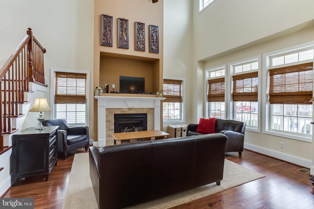 Main Level : Living Room - 59 GLACIER WAY, STAFFORD