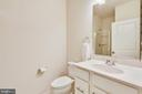 Bottom level bathroom - 23410 ADAGIO TER, BRAMBLETON
