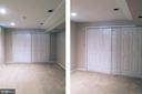 Lower Level Den or 5th Bedroom w/Closet - 14504 S HILLS CT, CENTREVILLE