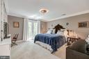 Owners  Bedroom with double doors - 3629 ALBEMARLE ST NW, WASHINGTON