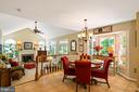 Walk-in bay window - 6411 SPRINGHOUSE CIR, CLIFTON