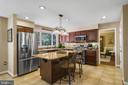Gourmet kitchen - 6411 SPRINGHOUSE CIR, CLIFTON