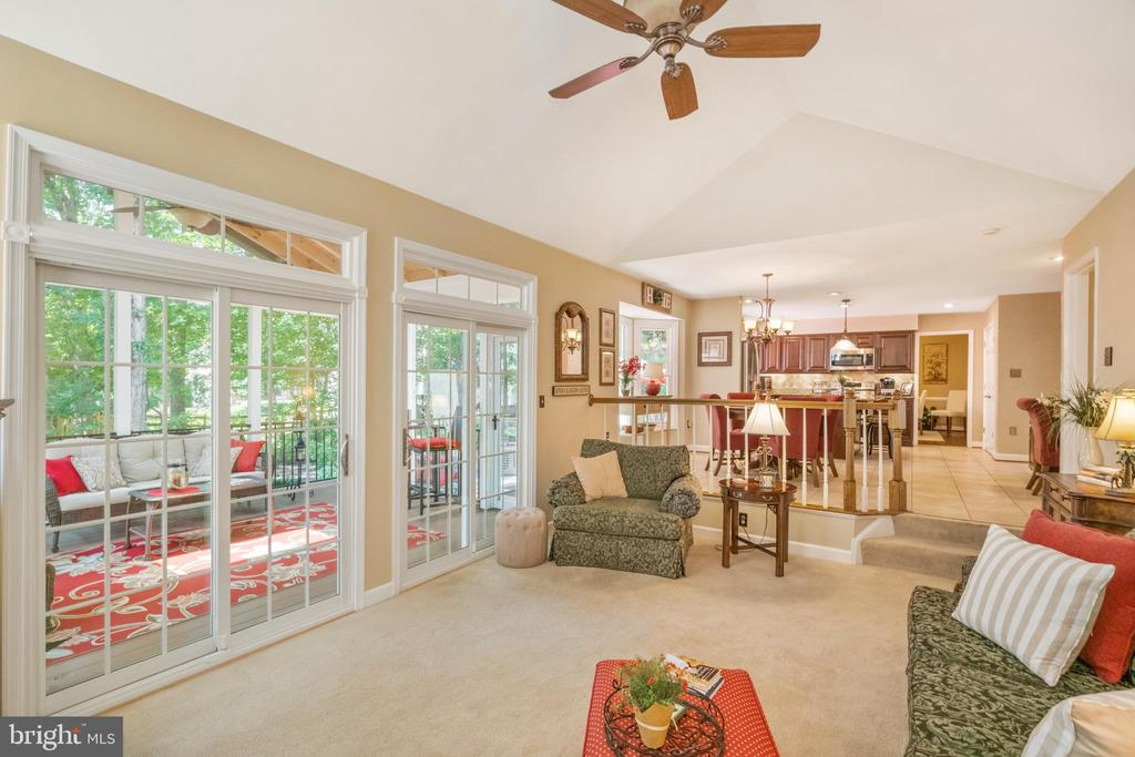 2 SGD's to the screened porch - 6411 SPRINGHOUSE CIR, CLIFTON