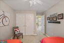 Double door closet - 6411 SPRINGHOUSE CIR, CLIFTON