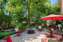 Patio and fire pit - 6411 SPRINGHOUSE CIR, CLIFTON