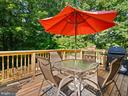 Deck off of Kitchen - 9193 FOREST BREEZE CT, SPRINGFIELD