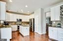 Remodeled Kitchen - 25973 STINGER DR, CHANTILLY