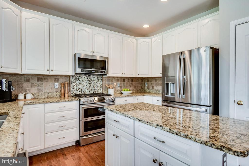 High-End Stainless Appliances - 25973 STINGER DR, CHANTILLY