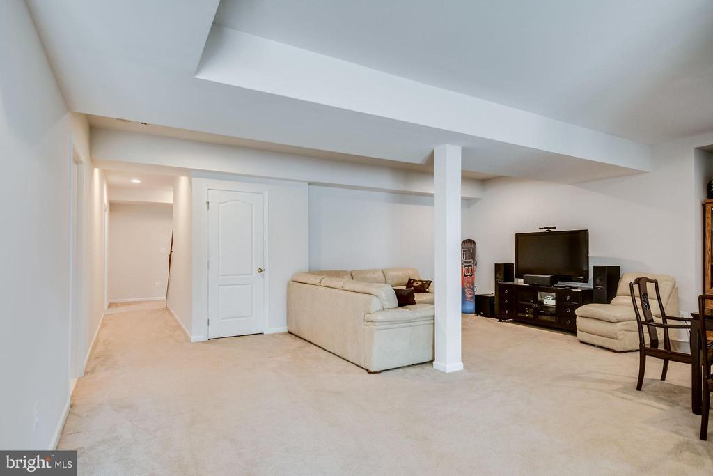 Fully Finished Basement w/ Full Bath - 25973 STINGER DR, CHANTILLY