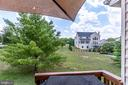 View from Deck - 25973 STINGER DR, CHANTILLY