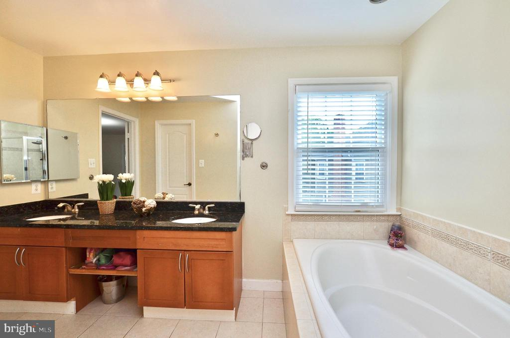Renovated Master bath - 46521 HOLLYMEAD PL, STERLING