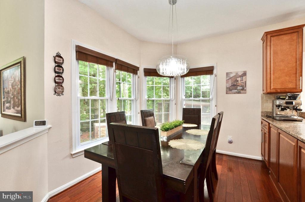 Breakfast area - 46521 HOLLYMEAD PL, STERLING