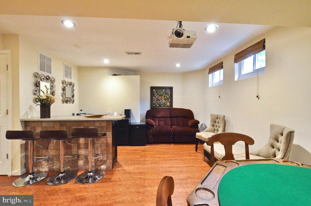 Lower level family/bar/entertainment - 46521 HOLLYMEAD PL, STERLING
