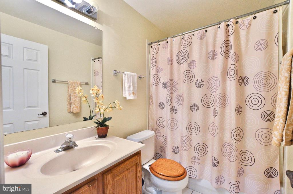 Lower level full bath - 46521 HOLLYMEAD PL, STERLING