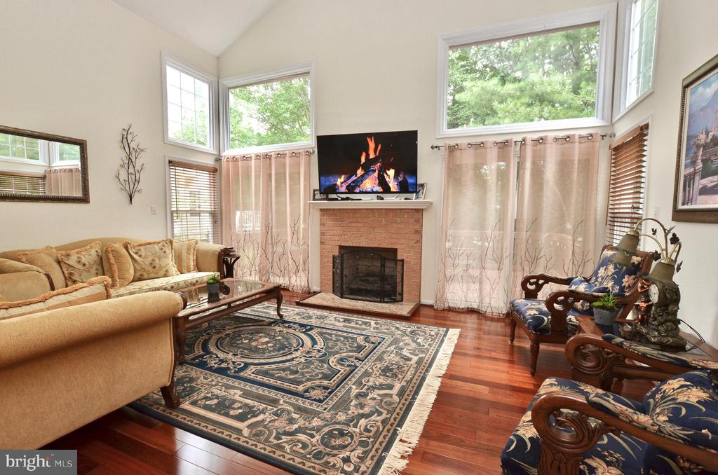 Open and bright Family room - 46521 HOLLYMEAD PL, STERLING
