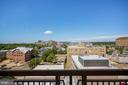 View From Balcony! - 1020 N HIGHLAND ST #821, ARLINGTON