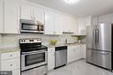 Renovated kitchen! - 1600 N OAK ST #1716, ARLINGTON