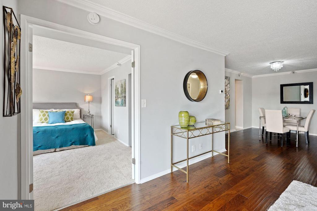 Second bedroom on opposite side of living space - 1600 N OAK ST #1716, ARLINGTON