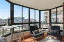 1,245 square feet including the enclosed sunroom! - 1600 N OAK ST #1716, ARLINGTON
