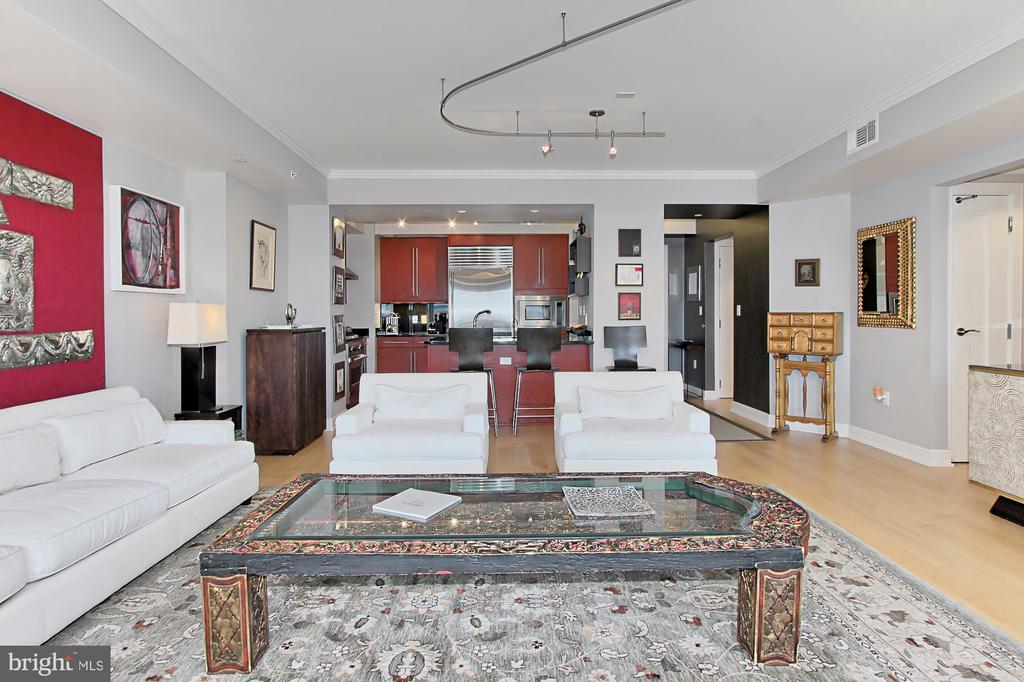 Living Room/Kitchen - 1111 19TH ST N #2503, ARLINGTON