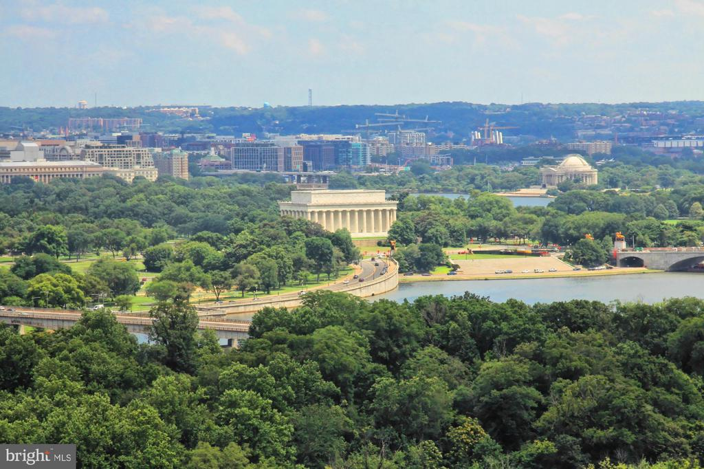 View From Living and Dining Room - 1111 19TH ST N #2503, ARLINGTON