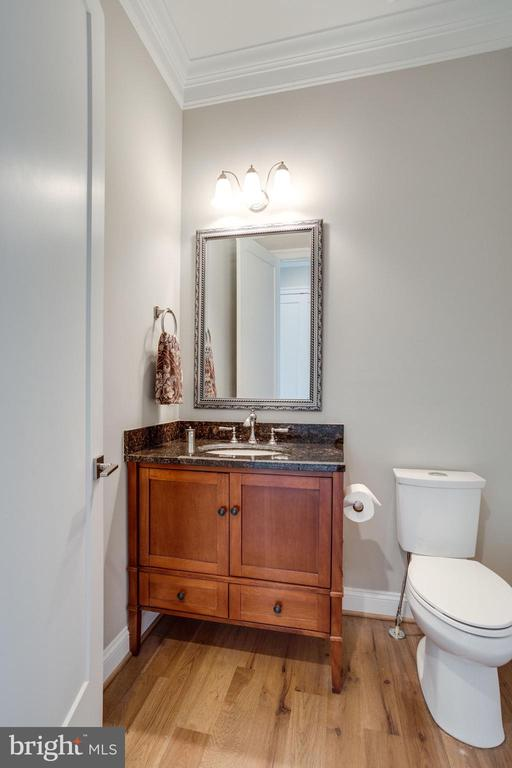 1 of 2 Powder Rooms on Main Level - 41820 RESERVOIR RD, LEESBURG