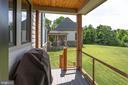 Deck overlooking Backyard - 41820 RESERVOIR RD, LEESBURG