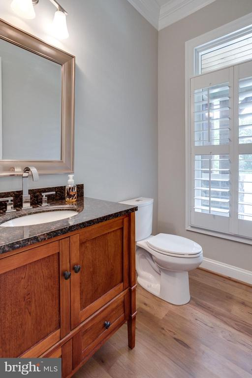 2 of 2 Powder Rooms on Main Level - 41820 RESERVOIR RD, LEESBURG