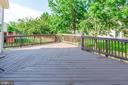 Large Deck - 26048 IVERSON DR, CHANTILLY