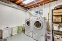 Laundry! - 8327 STONEWALL DR, VIENNA