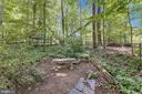 Bench to Enjoy Nature - 6811 WINTER LN, ANNANDALE