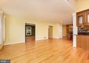 Family Room Open to Kitchen - 10200 RED LION TAVERN CT, ELLICOTT CITY