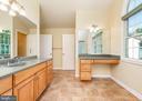 Master Bathroom Vanity - 10200 RED LION TAVERN CT, ELLICOTT CITY