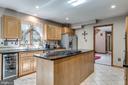 Large Kitchen - Tile Flooring - 1676 LOUDOUN DR, HAYMARKET