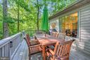 20 x 10 Deck adds to outdoor living - 111 SILVER SPRING DR, LOCUST GROVE