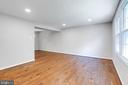 Living Room with Gorgeous Hardwood Floors - 8848 CREEKSIDE WAY, SPRINGFIELD