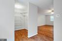 View of Master Walk-In Closet - 8848 CREEKSIDE WAY, SPRINGFIELD