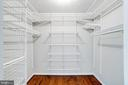 Master Walk-In Closet - 8848 CREEKSIDE WAY, SPRINGFIELD