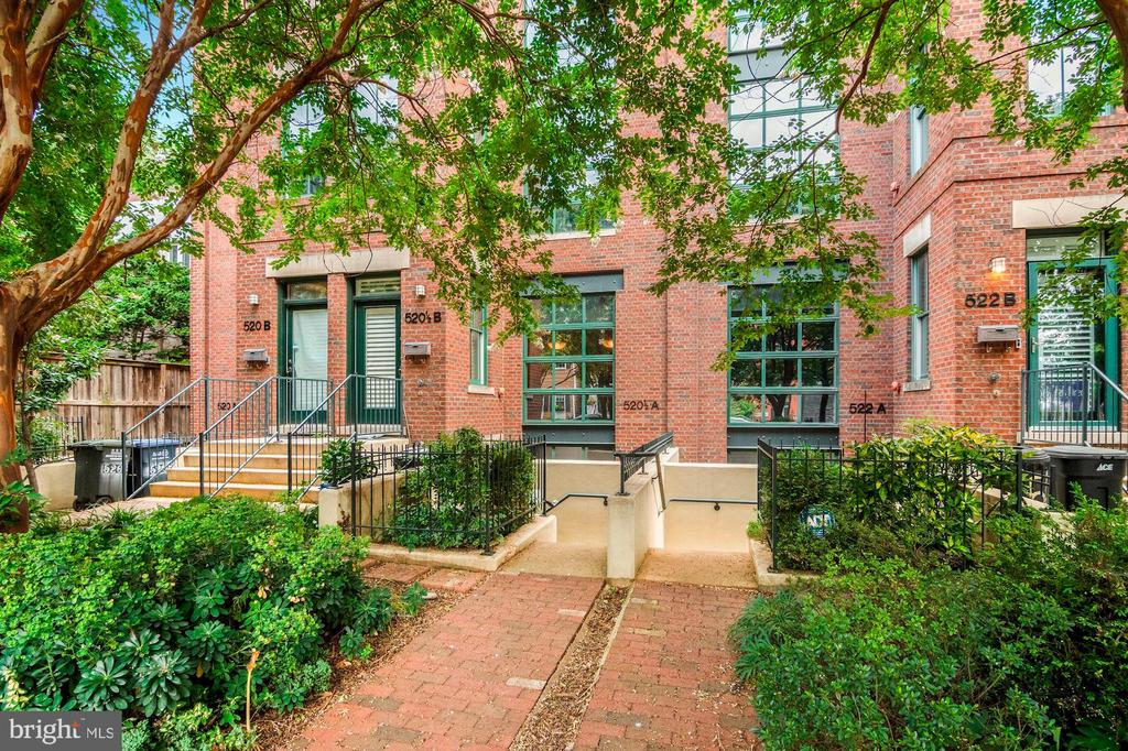 Front gardens - 520 1/2 13TH ST SE #A, WASHINGTON
