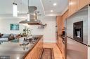 Fabulous chef's kitchen w/massive island - 520 1/2 13TH ST SE #A, WASHINGTON