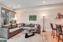 Spread out in this massive family room - 520 1/2 13TH ST SE #A, WASHINGTON