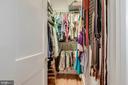 BIG walk-in closet MBR - 520 1/2 13TH ST SE #A, WASHINGTON