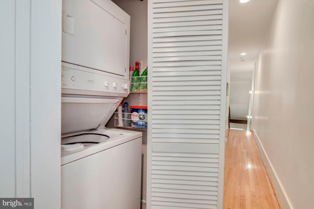 Laundry upper lvl - 520 1/2 13TH ST SE #A, WASHINGTON