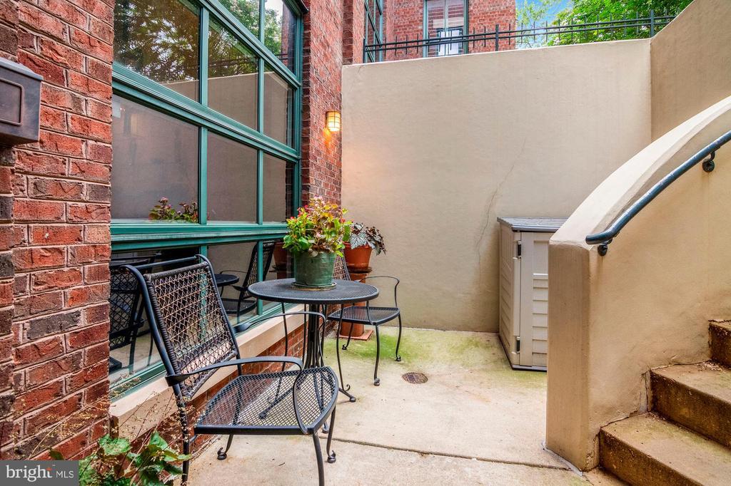 Front patio/ entry - 520 1/2 13TH ST SE #A, WASHINGTON