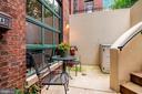 Front patio / entry - 520 1/2 13TH ST SE #A, WASHINGTON