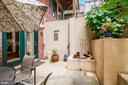 Rear tiered gardens / patio! - 520 1/2 13TH ST SE #A, WASHINGTON