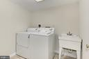 Separate Laundry Room w/washer,dryer,sink - 4631 N 4TH RD N, ARLINGTON