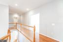 Upstairs hallway connecting all five bedrooms - 6033 SUMNER RD, ALEXANDRIA