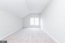 Large leftmost front bedroom with vaulted ceiling - 6033 SUMNER RD, ALEXANDRIA