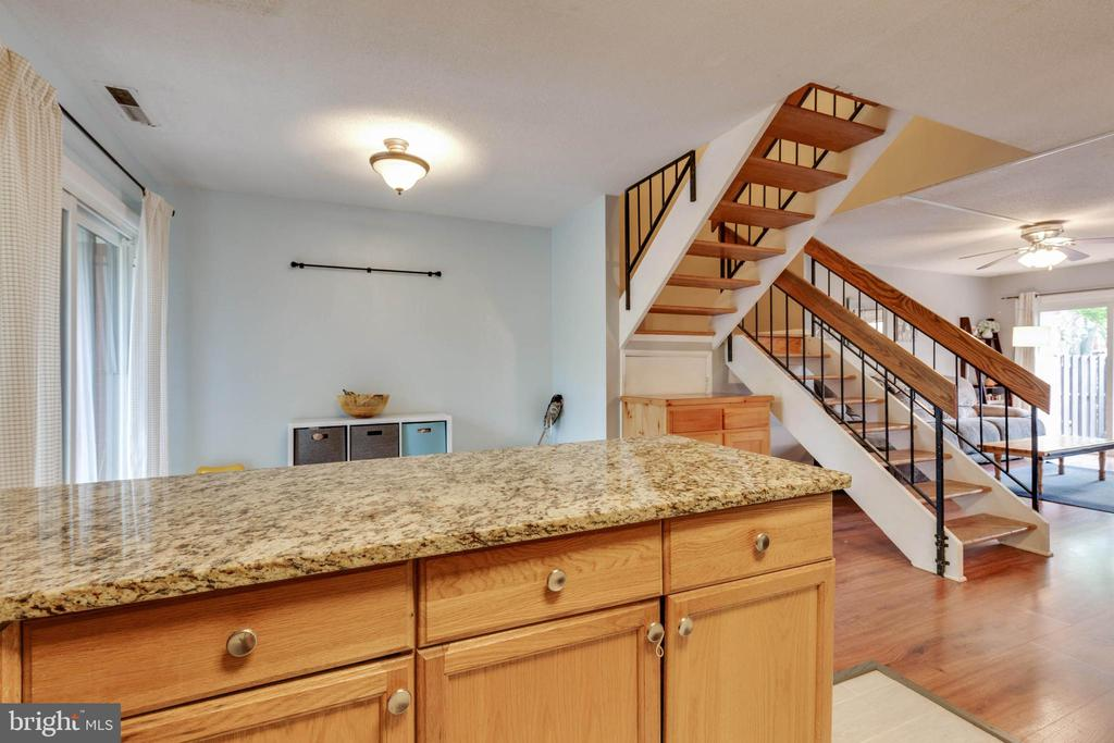 Opens to dining room - 1326 NORTHGATE SQ, RESTON